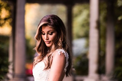 Bridal Portraits at The Venetian New Jersey