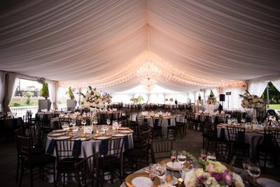 Tented Wedding Receptions at the Water Works