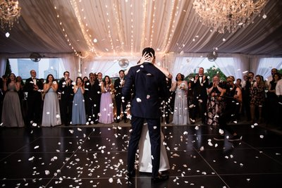 First Dance at Water Works Wedding Reception