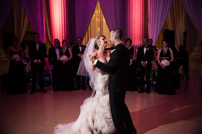 First Dance at Franklin Institute Wedding
