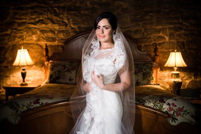 Portraits of Brides at Holly Hedge