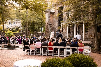 Outdoor Ceremony at Holly Hedge Estate