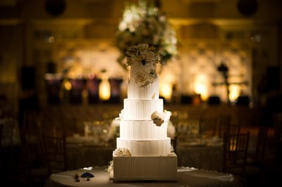 Wedding Cake Photo at Ritz-Carlton Philadelphia