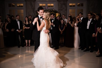First Dance Photos at Ritz-Carlton Philadelphia