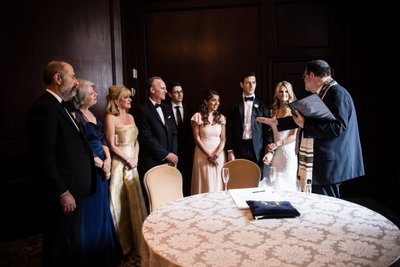 Ketubah Signing Photos at Ritz-Carlton Philadelphia