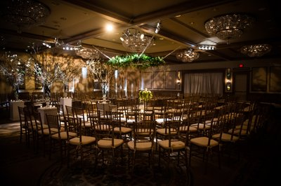 Wedding Ceremony Setup in Rittenhouse Hotel