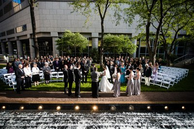 Outdoor Ceremonies at Logan Philadelphia Hotel