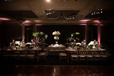 Logan Philadelphia Hotel Wedding Decor