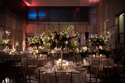 Barnes Foundation Wedding Receptions