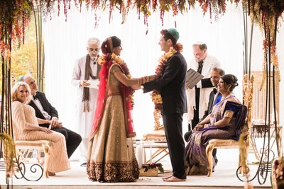Indian Wedding Ceremony at Barnes Foundation