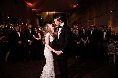 First Dance at Barnes Foundation Wedding