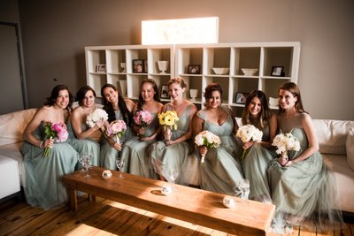 Bridesmaids at Front & Palmer