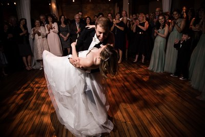 First Dance at Front & Palmer