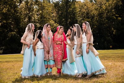 Outdoor Photos at Sikh Wedding