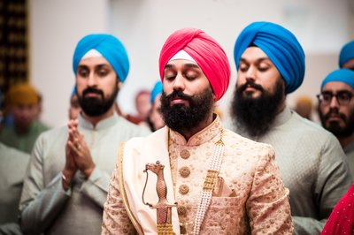 Sikh Wedding Photography in New Jersey
