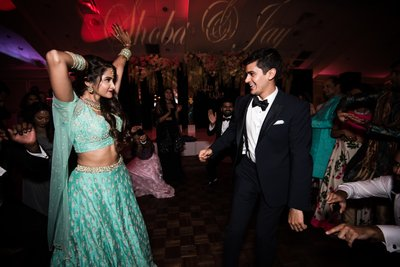 Dancing Photos From Indian Wedding Reception