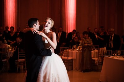 First Wedding Dance at Franklin Institute