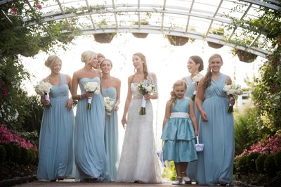 Bridemaids at Bonnet Island Estate