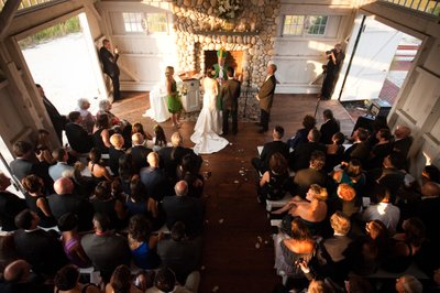 Bonnet Island Estate Wedding Ceremony Overview
