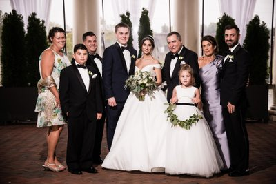 Family Photos at Water Works Wedding