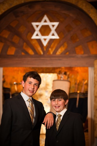 Family Photos at Synagogue