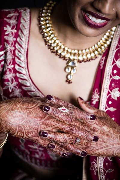 Bridal Details, Henna and Jewelry