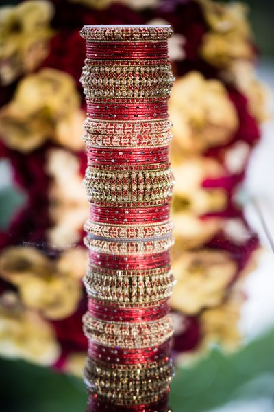 Detail Photo of Bride's Bangles