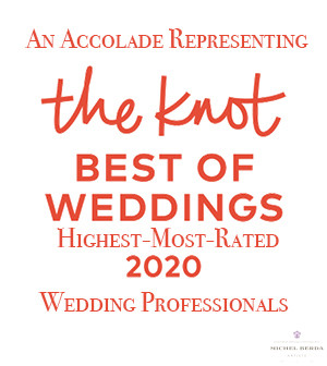 The Knot 2020 Best Of Weddings Badge