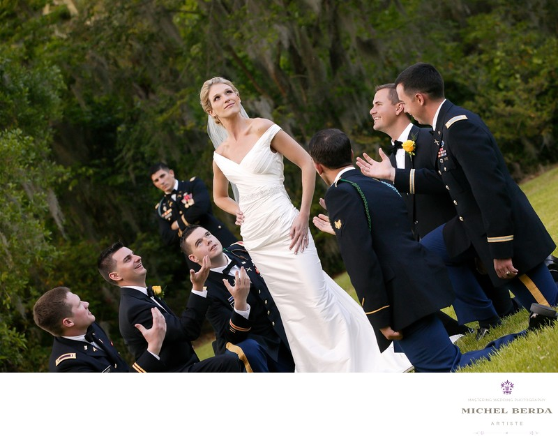 Magnolia Plantation Wedding Photographer