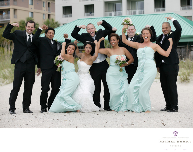 Wedding Photographer for Westin Resort and Spa