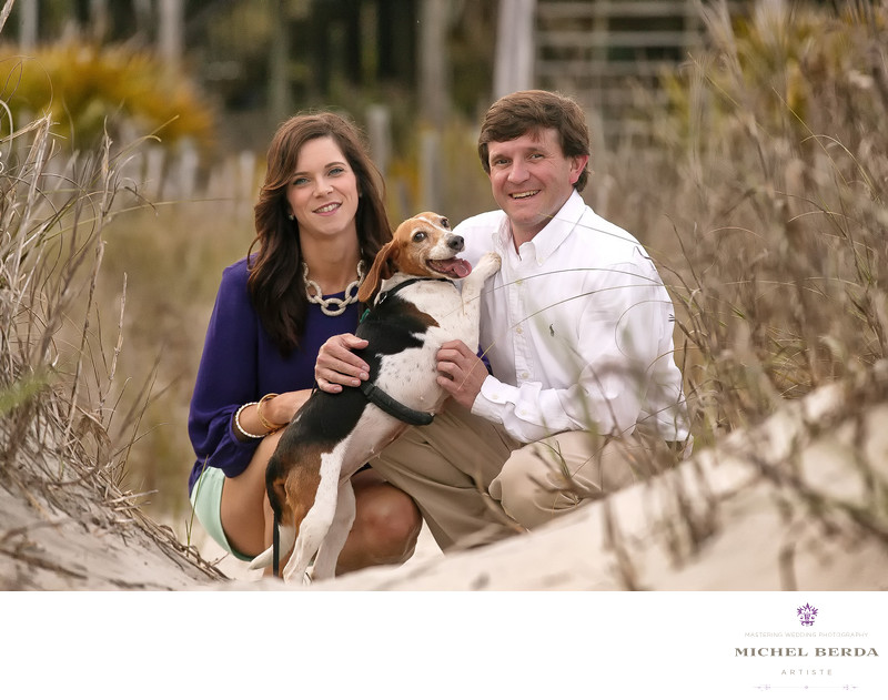 Folley Beach SC Engagement