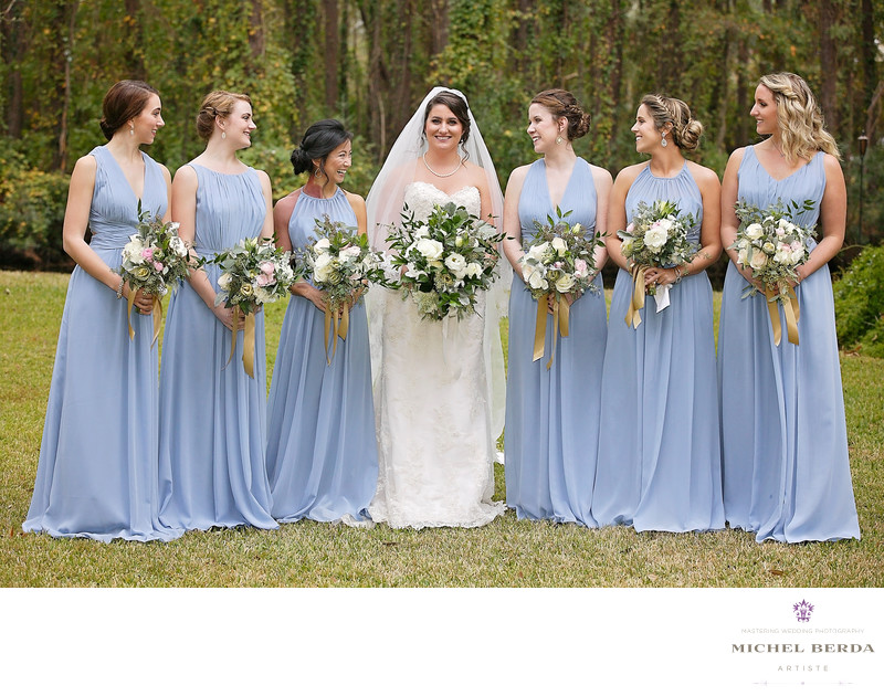 Bridesmaids outdoor Alhambra Hall
