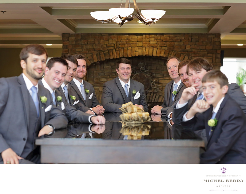 Groom & Groomsmen Alhambra Hall