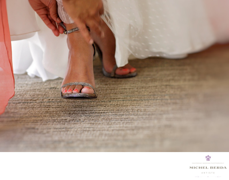 Bride shoes THE WESTIN HILTON HEAD ISLAND RESORT & SPA