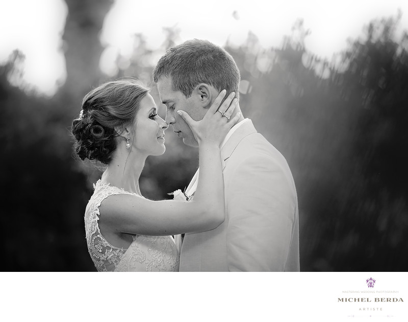 Bride & Groom B&W portrait Weddings Palmetto Dunes Oceanfront Resort