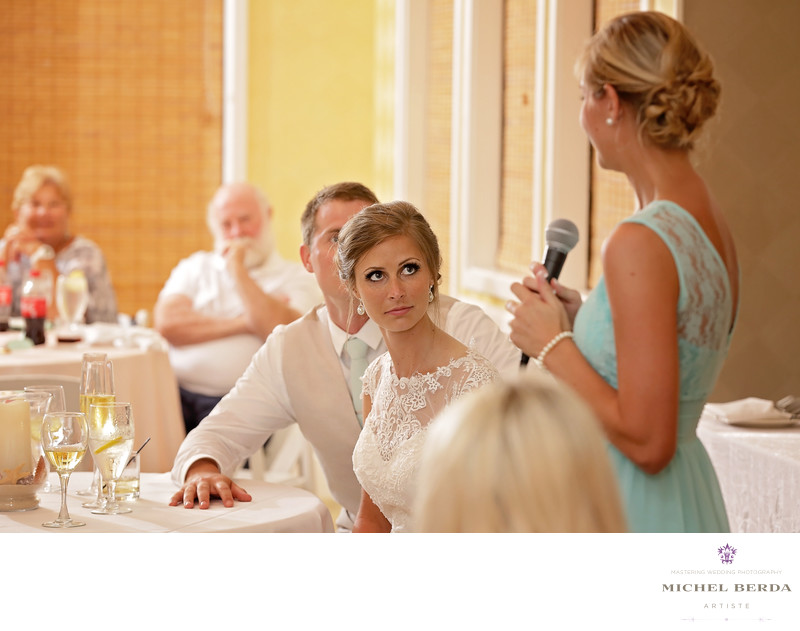 Maid of honor toast Weddings Palmetto Dunes Oceanfront Resort