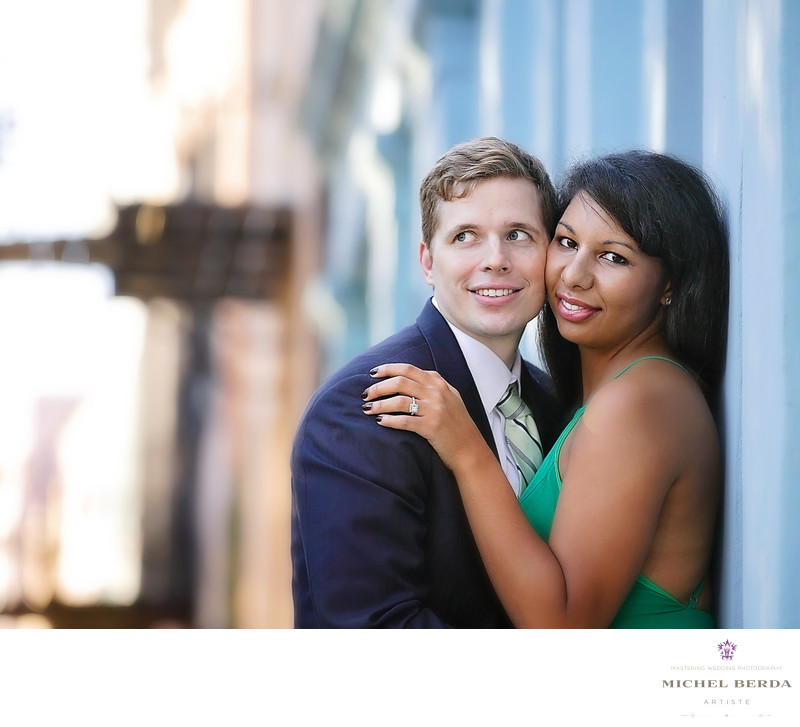 Engagement photographers Charleston SC