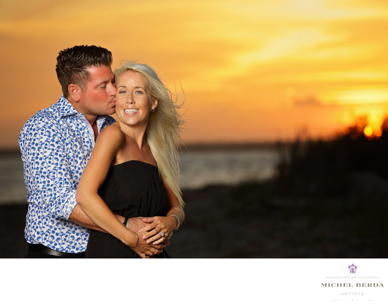 Charleston Sunset Engagement Session