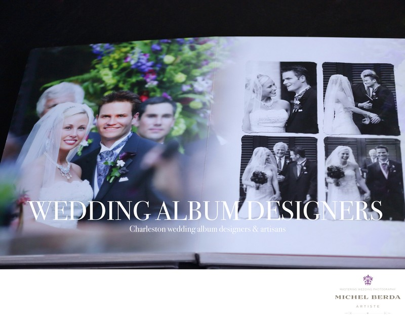 Home Wedding Albums Charleston