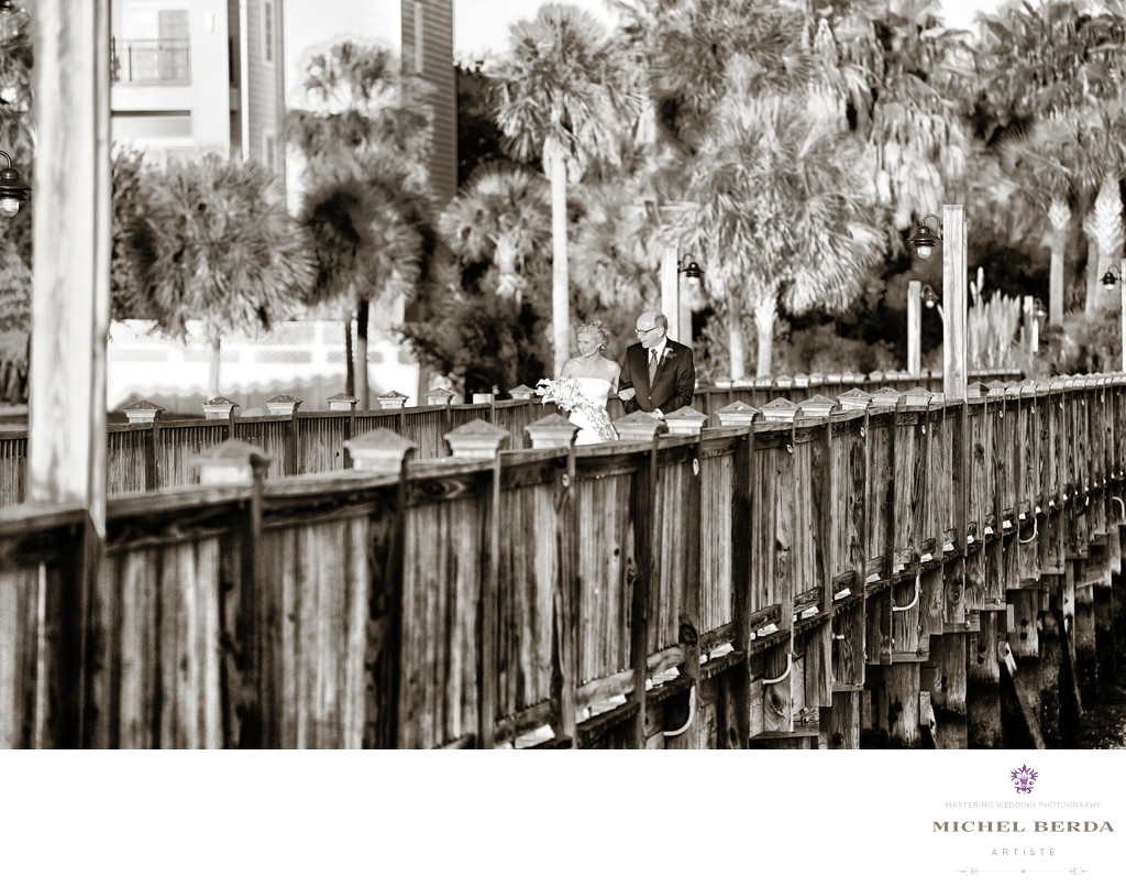 Wedding Photographer for Charleston Harbor Resort & Marina.
