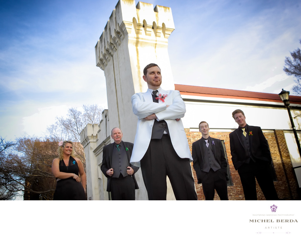 Wlliam Aiken House Wedding Photographer