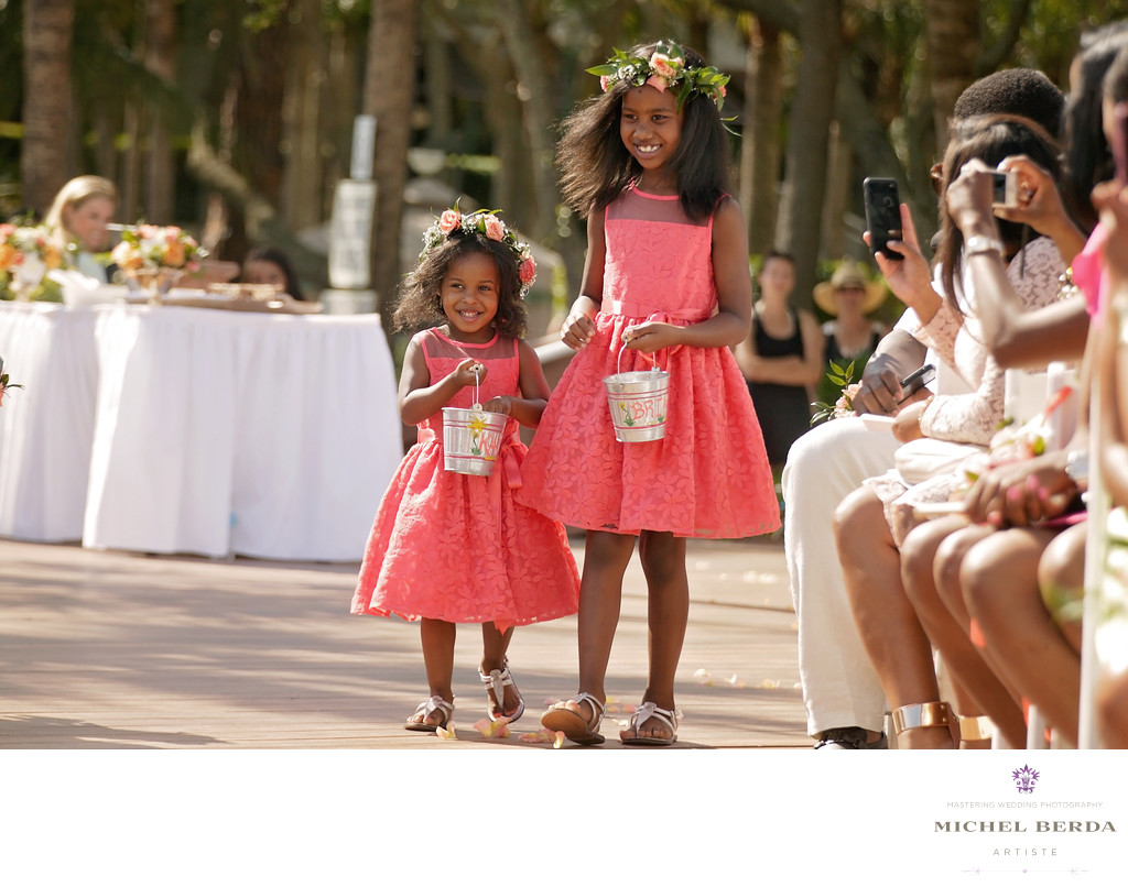 Flower girls THE WESTIN HILTON HEAD ISLAND RESORT & SPA