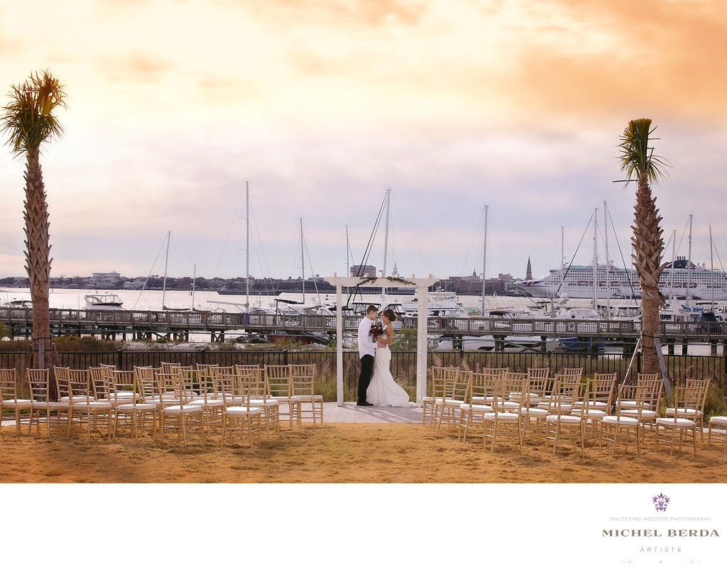Charleston Harbor Resort Marina Wedding Photographer