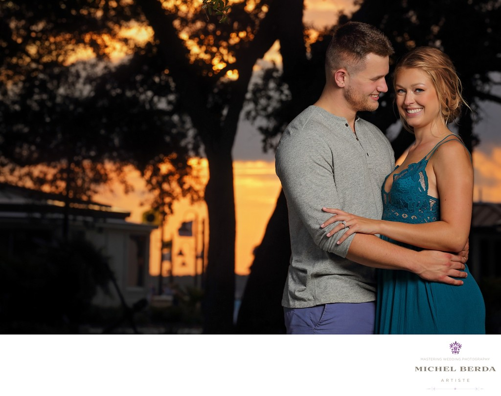 Sea Pines Resort Engagement Photos
