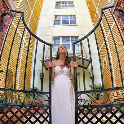 Wild Dunes Resort Bridal Portrait