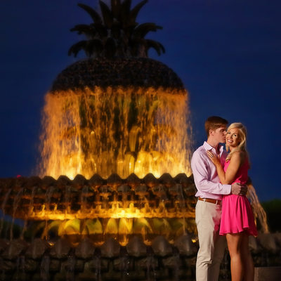 Waterfront Park engagement Photos.