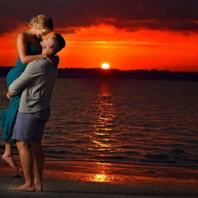 Hilton Head Island Engagement Sunset Photographers