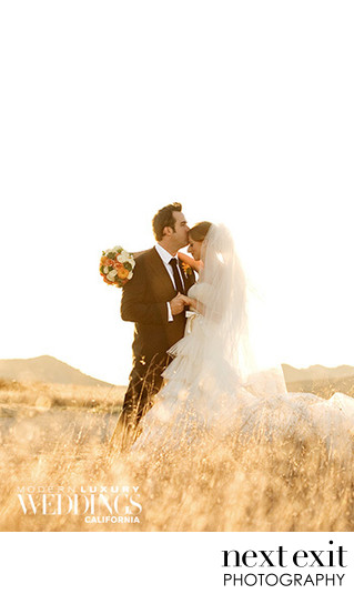 Modern Luxury Wedding Online's Newman Wedding Feature