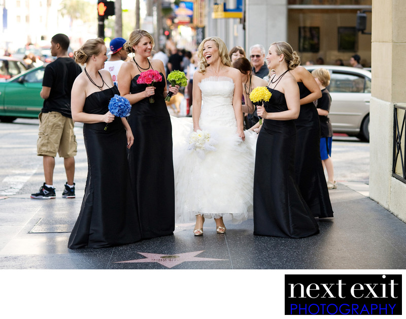 Hollywood Boulevard Wedding Photography