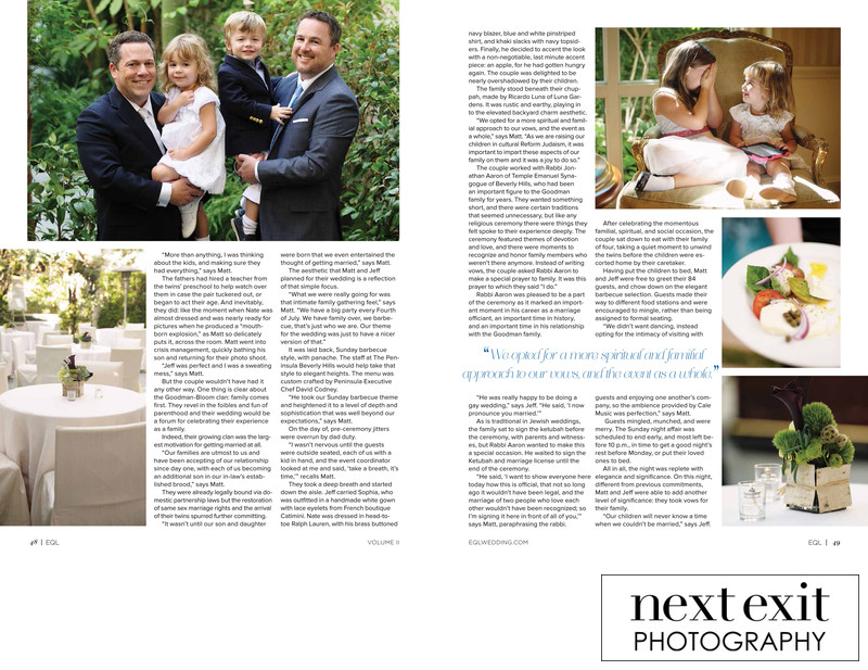 Family Wedding Photography Magazine Feature